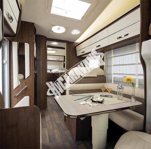 Obytný vůz McLouis Twid 73 G s alkovnou, garáží, 150 PS, Klimatizace č.7