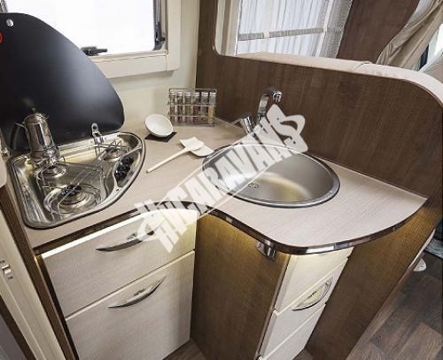 Obytný vůz McLouis Twid 73 G s alkovnou, garáží, 150 PS, Klimatizace č.10