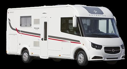 AUTOSTAR PRIVILEGIE I 690 L J, celointegrovaný model 2018  skladem č.41