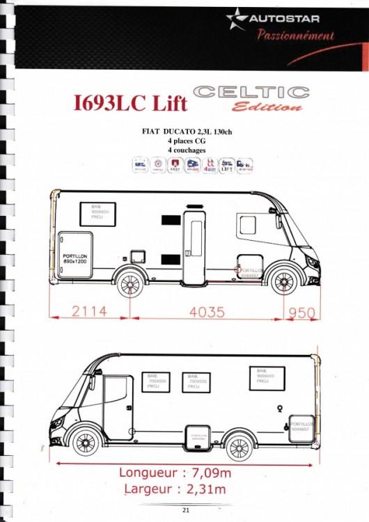 AUTOSTAR Limitovaná edice I 693 FIAT 150 PS celointegrovaný model 2019 skladem ML ihned k odběru č.2
