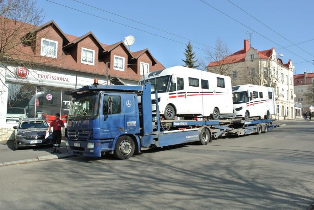 HvCARAVANS nové skladové vozy AUTOSTAR 720 a 690 ihned k odběru