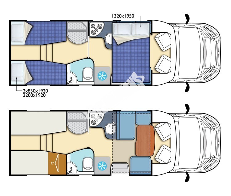 Polointegrovaný obytný vůz T-LOFT 530 model 2018 limitovaná edice skladem Mar-Lázně Prodáno č.8