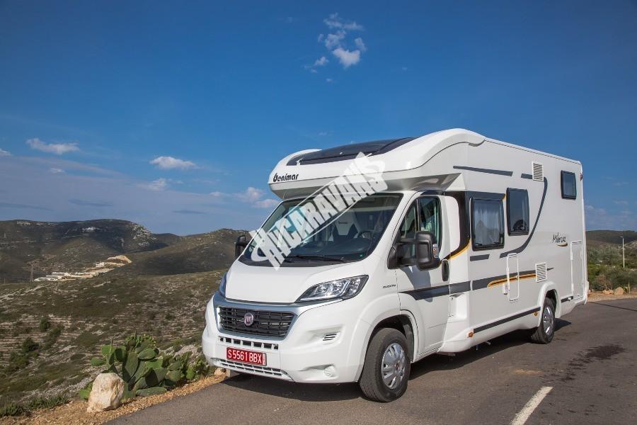 Obytný karavan Benimar Mileo 242