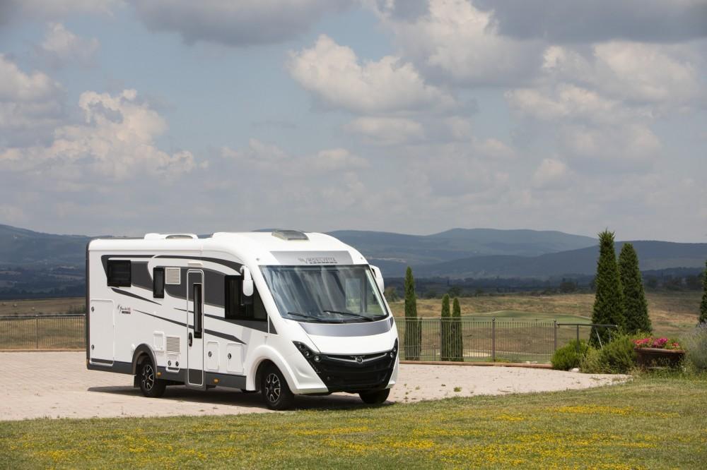 Celointegrovaný karavan Mobilvetta K-YACHT 85  TEKNO LINE model 2019
