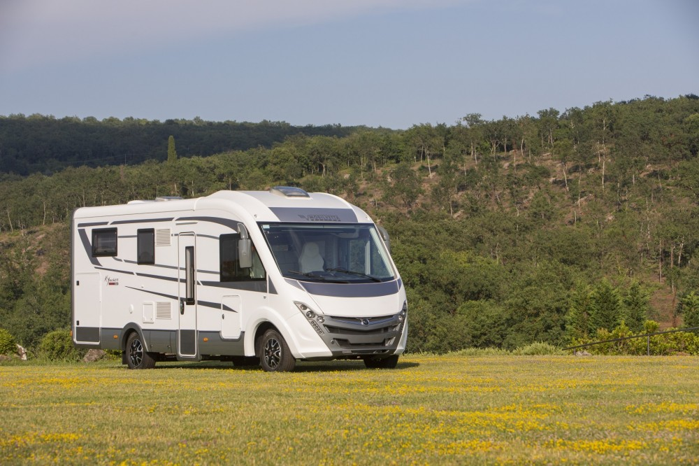 Celointegrovaný karavan Mobilvetta K-YACHT 85  TEKNO LINE  CAPPUCCINO model 2019