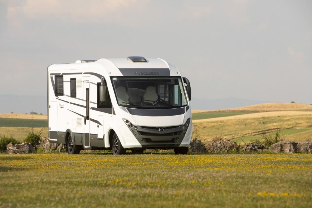 Celointegrovaný obytný vůz Mobilvetta K-YACHT 90 Tekno Line model 2019