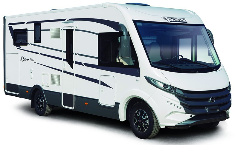 Celointegrovaný obytný vůz Mobilvetta I.Silver 59 model 2019
