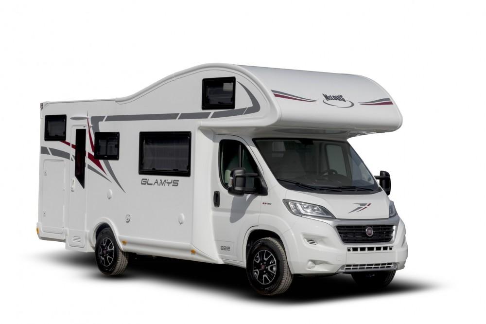 Obytný vůz GLAMYS 823 s alkovnou model 2019