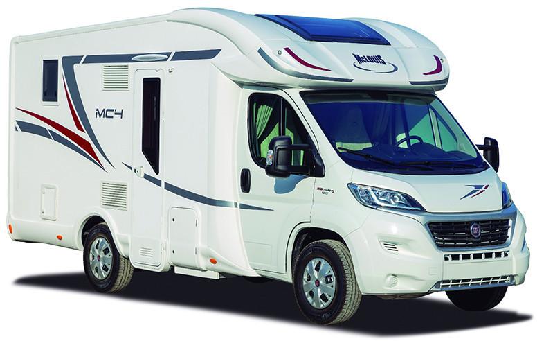 Polointegrovaný obytný vůz MC4 339 G model 2019