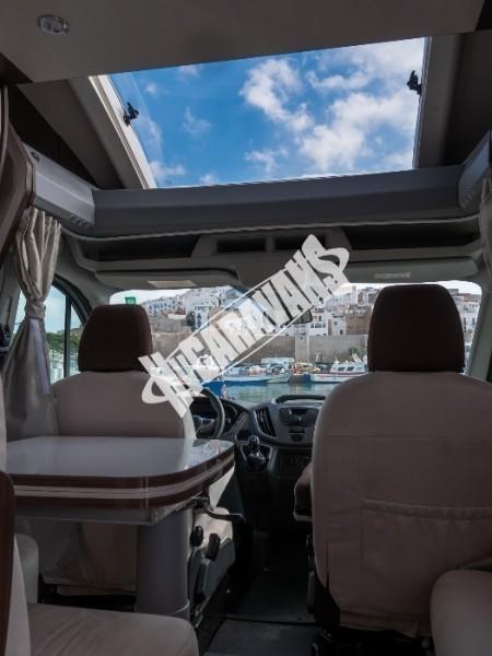Obytný vůz Benimar Tessoro  413/2016 155 PS  Metalíza kabiny řidiče FORD PACK Prodáno ! č.6