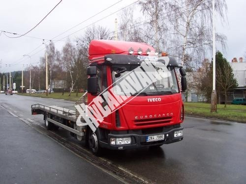 Odtahový vůz IVECO EUROCARGO 75 ML 18/P