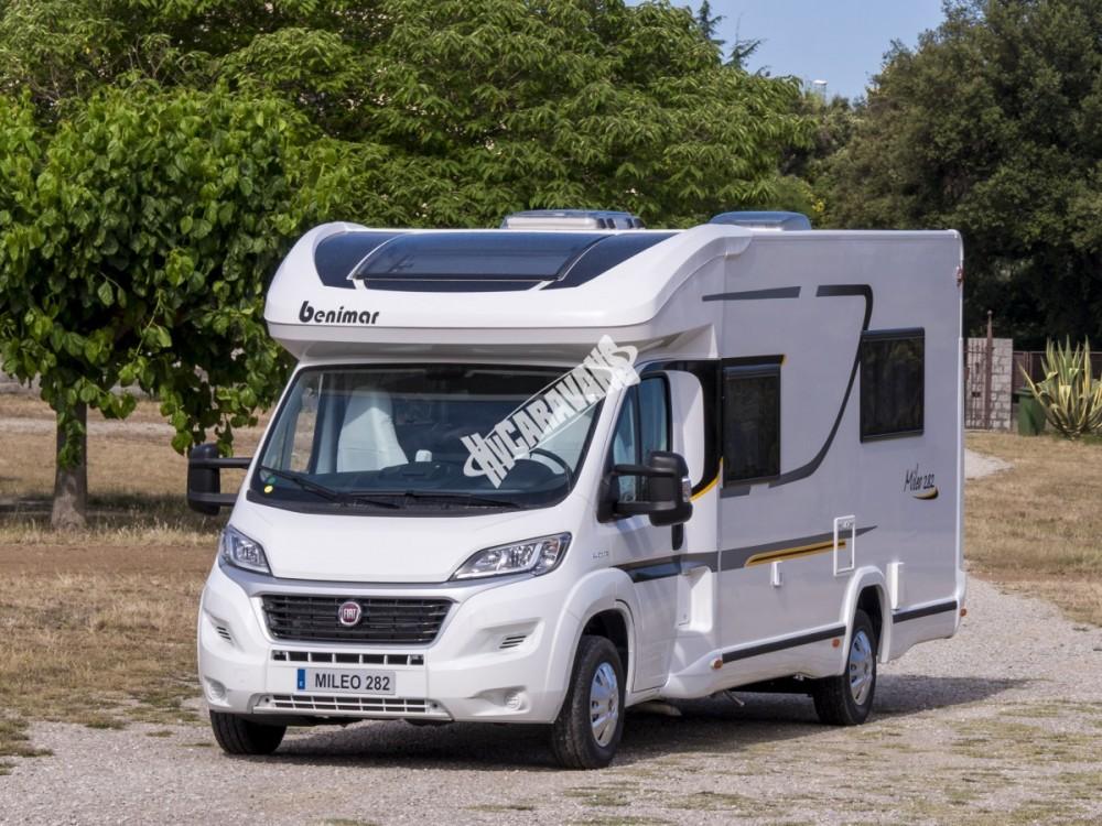 Obytný vůz Benimar Mileo 282 model 2018 FIAT 150 PS + automat převody termín dodání 10/2017