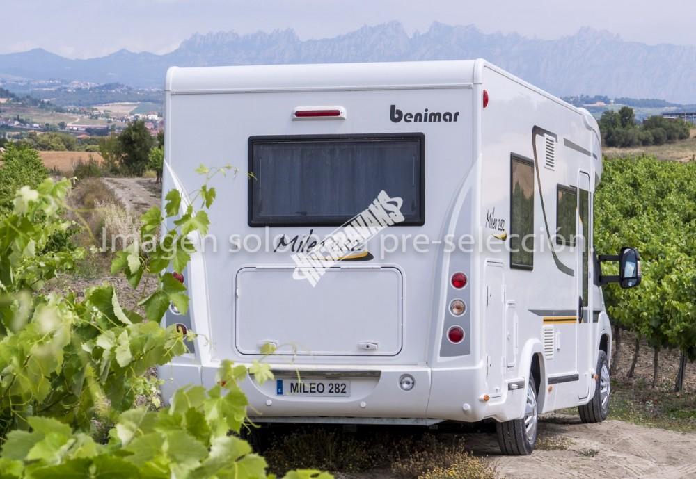 Obytný vůz  Benimar Mileo 282 - 150HP automat,nadstandadní výbava Northautokapp v ceně Rezervace č.4