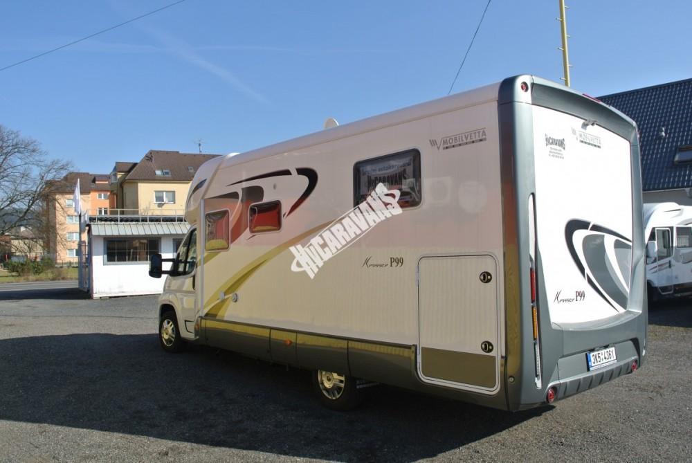 Polointegrovaný karavan MOBILVETTA KROSSER 99 č.4