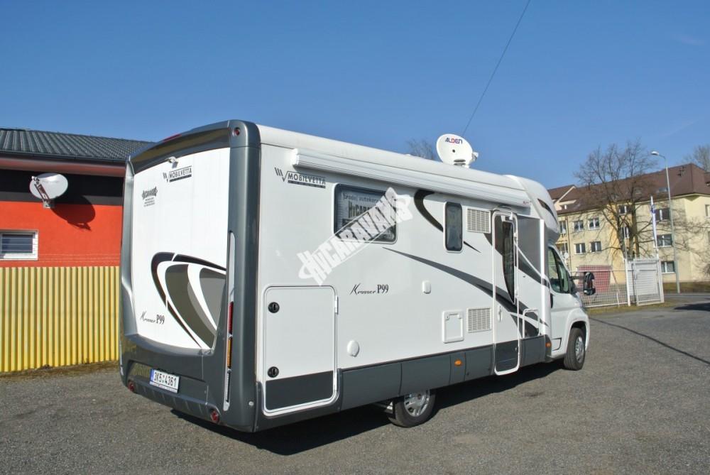 Polointegrovaný karavan MOBILVETTA KROSSER 99 č.10