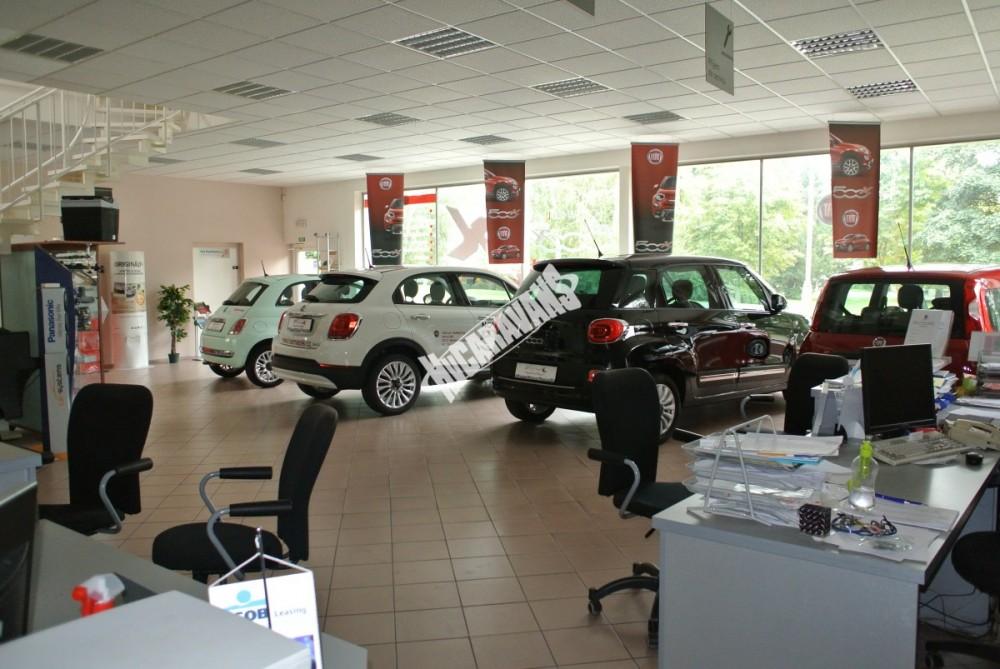 Fiat 500 1.2 PLUS Barva světle zelená TOP výbava + cena  0 KM  nový vůz č.16
