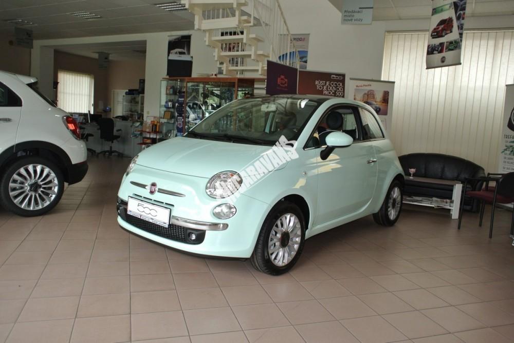 Fiat 500 1.2 PLUS Barva světle zelená TOP výbava + cena  0 KM  nový vůz č.2
