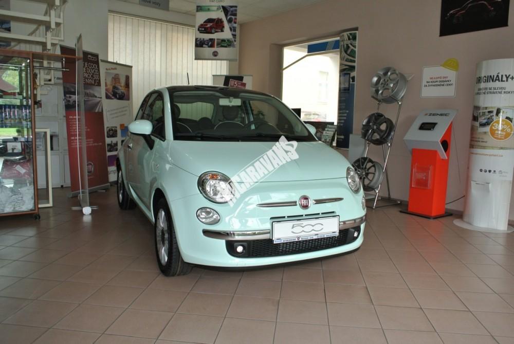 Fiat 500 1.2 PLUS Barva světle zelená TOP výbava + cena  0 KM  nový vůz č.3