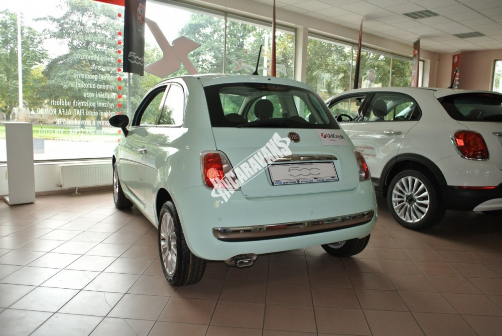 Fiat 500 1.2 PLUS Barva světle zelená TOP výbava + cena  0 KM  nový vůz č.5