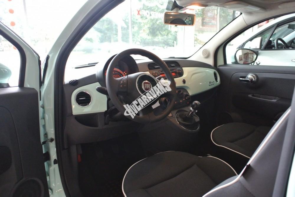 Fiat 500 1.2 PLUS Barva světle zelená TOP výbava + cena  0 KM  nový vůz č.13