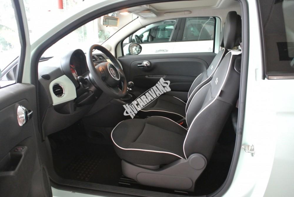 Fiat 500 1.2 PLUS Barva světle zelená TOP výbava + cena  0 KM  nový vůz č.14