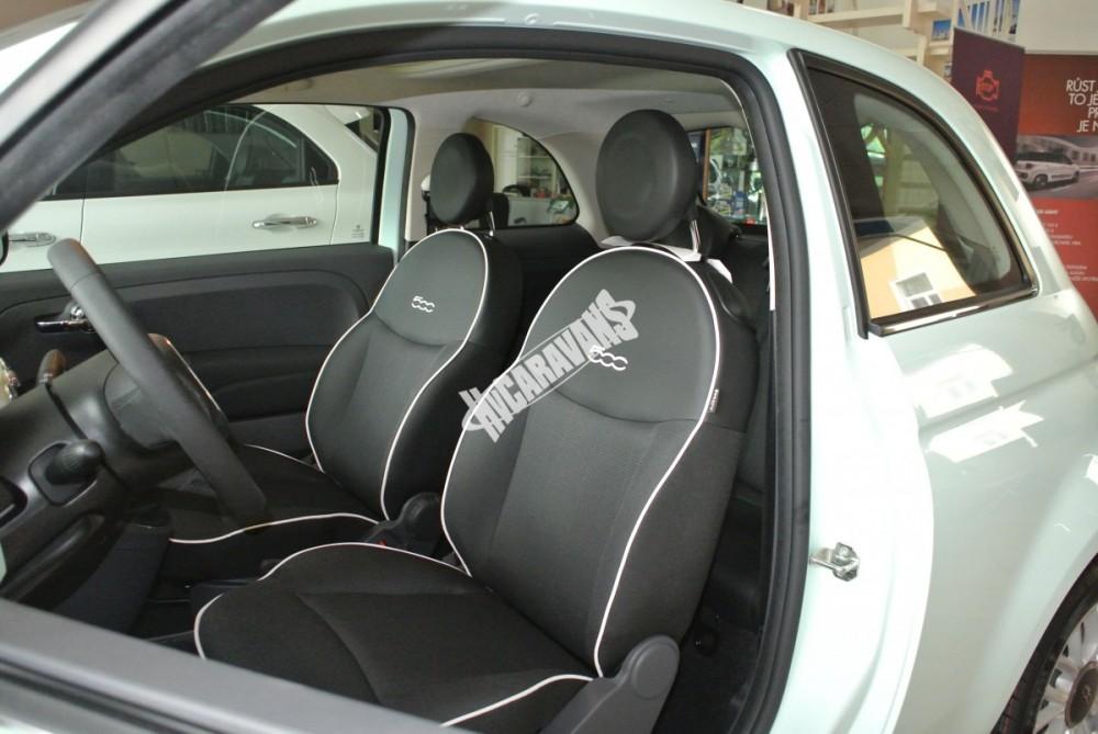 Fiat 500 1.2 PLUS Barva světle zelená TOP výbava + cena  0 KM  nový vůz č.15