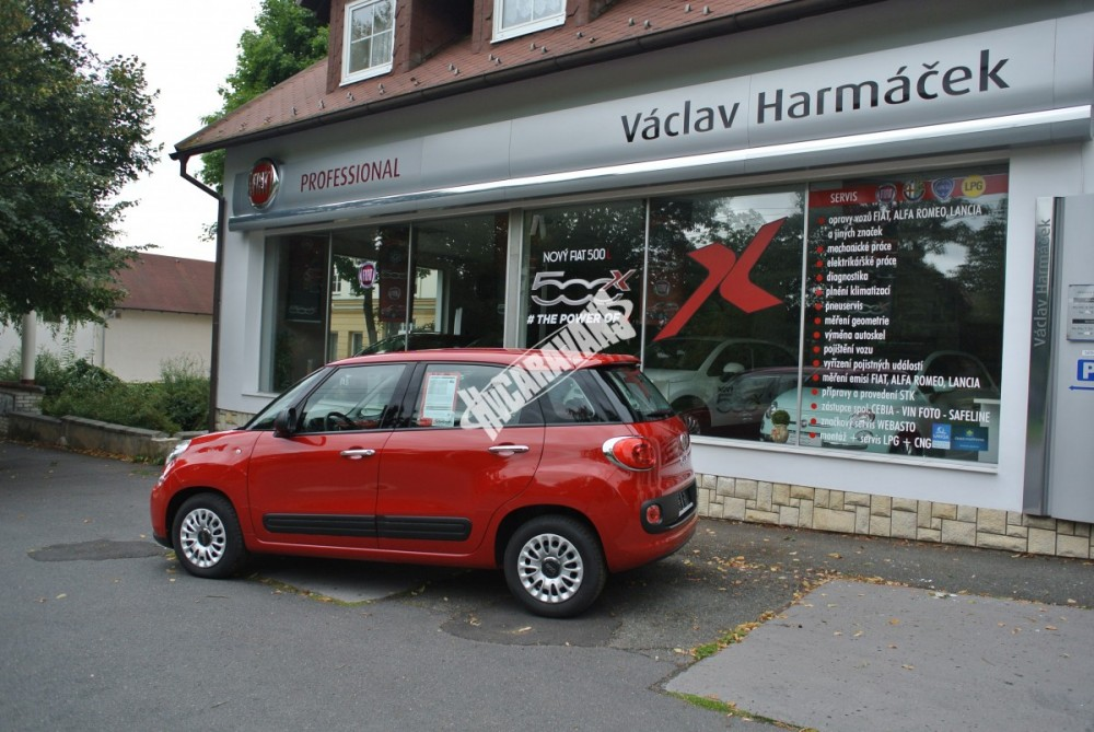 Fiat 500 L 1.4. 95 PS AIR   POP  TOP cena+výbava  0 Km č.3