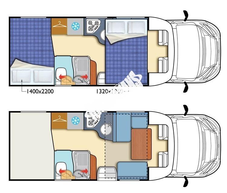 Polointegrovaný obytný vůz T-LOFT 450G Limitovaná serie 65 150 PS klimatizace Safety Pack  Alu kola  Prodáno,nové vozy T-450 skladem 1/2016 č.3