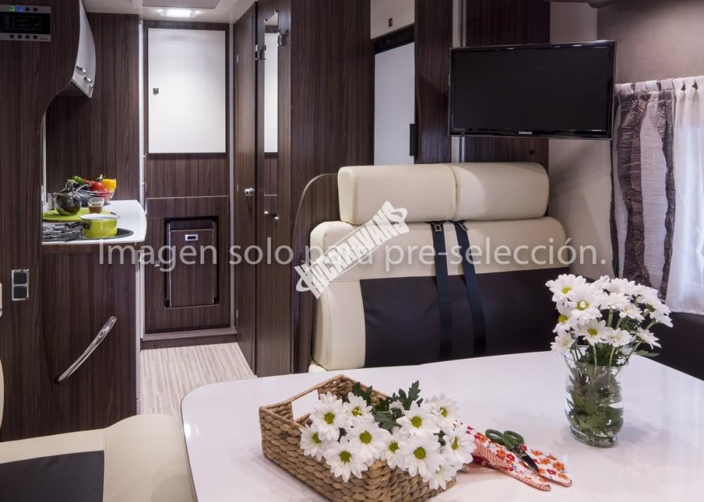 Obytný vůz Benimar Tessoro  486/2016  155 PS  Start+Stop potahy sedaček Malmo/kůže/ Prodáno !!! č.37