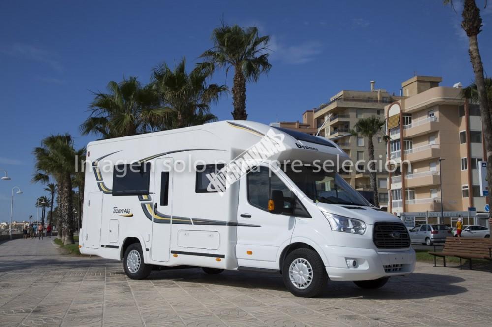 Obytný vůz Benimar Tessoro  486/2016  155 PS  Start+Stop potahy sedaček Malmo/kůže/ Prodáno !!! č.2