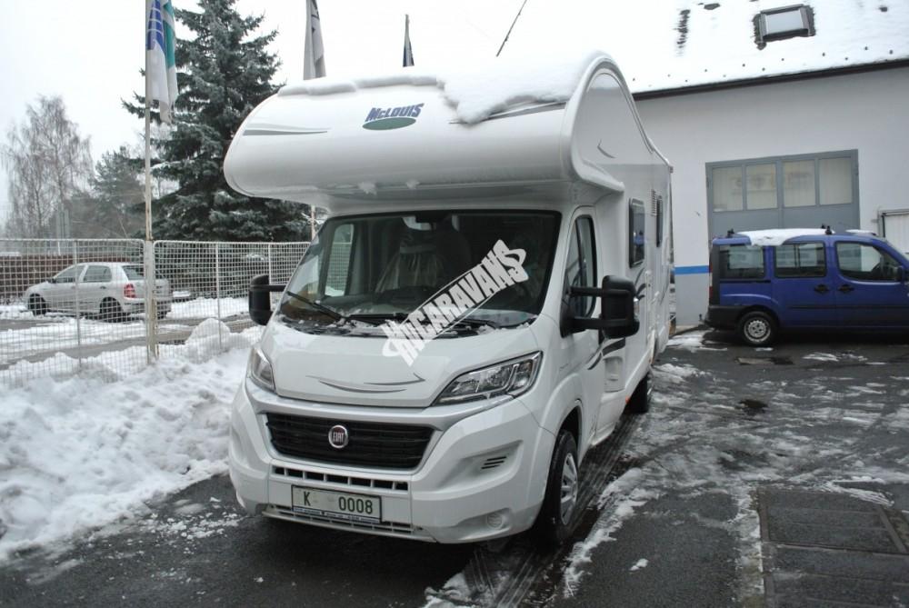 Obytný vůz GLAMYS 22. 7osob jízda/spani s alkovnou garáží 130 PS Klimatizace Safety Pack Alu kola č.27