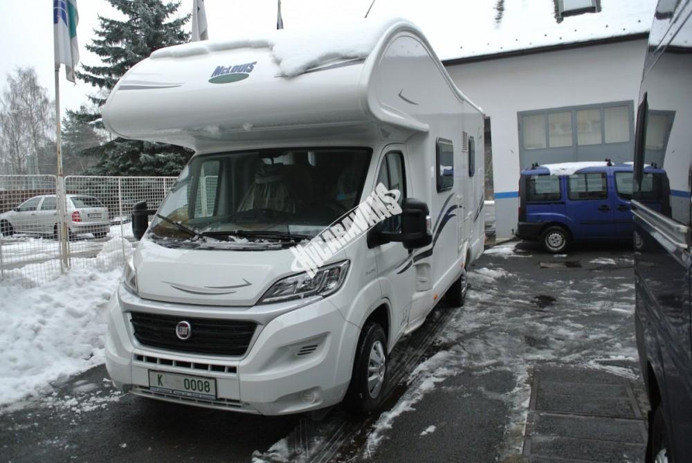 Obytný vůz GLAMYS 22. 7osob jízda/spani s alkovnou garáží 130 PS Klimatizace Safety Pack Alu kola č.28