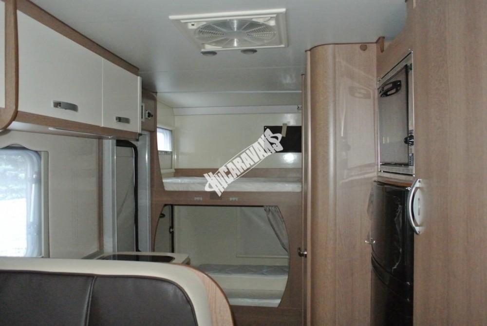 Obytný vůz GLAMYS 22. 7osob jízda/spani s alkovnou garáží 130 PS Klimatizace Safety Pack Alu kola č.29
