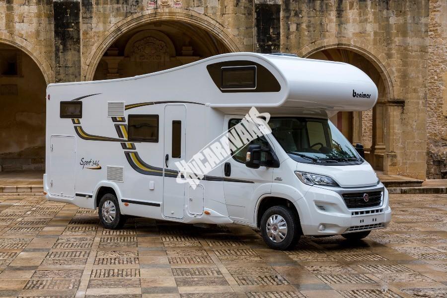 Obytný vůz Benimar Sport S 346 150 PS model 2019 Klimatizace FIAT PACK  skladem 7/2018