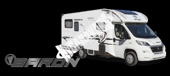 Polointegrovaný obytný vůz Baron 73G model 2018