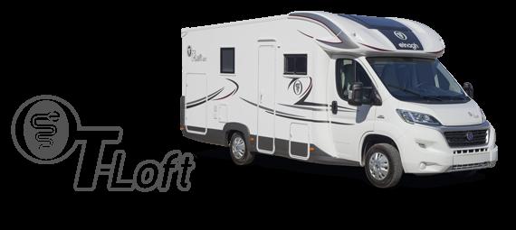 Polointegrovaný obytný vůz T-LOFT 400 model 2018