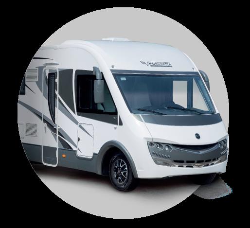 Celointegrovaný obytný vůz Mobilvetta K-YACHT 80 TEKNO LINE  model 2018