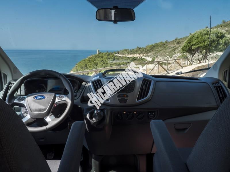 Obytný vůz Benimar Tessoro  UP 440 Limitovaná edice  2018 Top výbava, skladem Mar-Lázně,vůz na SPZ,registrovaný,odpočet DPH není možný,stav km 1020. č.43
