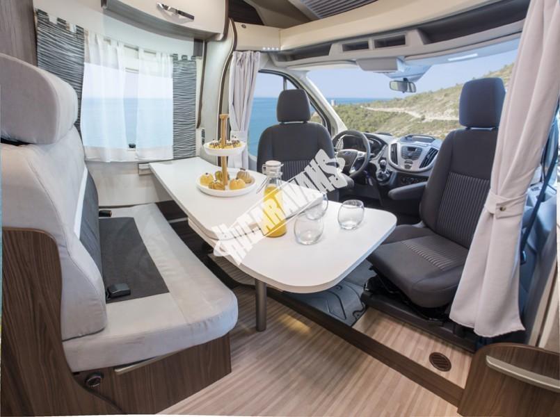 Obytný vůz Benimar Tessoro  UP 440 Limitovaná edice  2018 Top výbava, skladem Mar-Lázně,vůz na SPZ,registrovaný,odpočet DPH není možný,stav km 1020. č.47