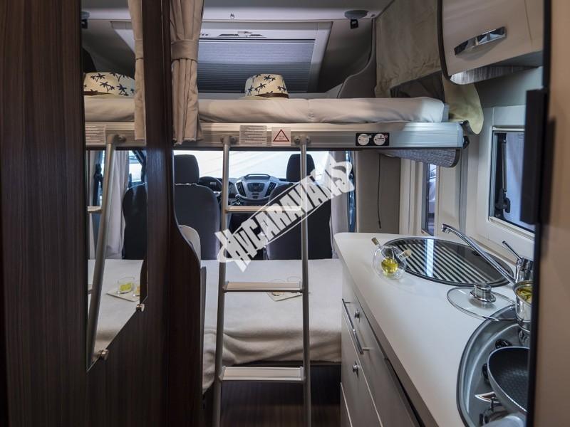 Obytný vůz Benimar Tessoro  UP 440 Limitovaná edice  2018 Top výbava, skladem Mar-Lázně,vůz na SPZ,registrovaný,odpočet DPH není možný,stav km 1020. č.61