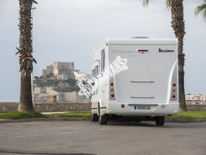 Obytný vůz Benimar Tessoro  494 170 PS model 2017 Skladem ML č.12