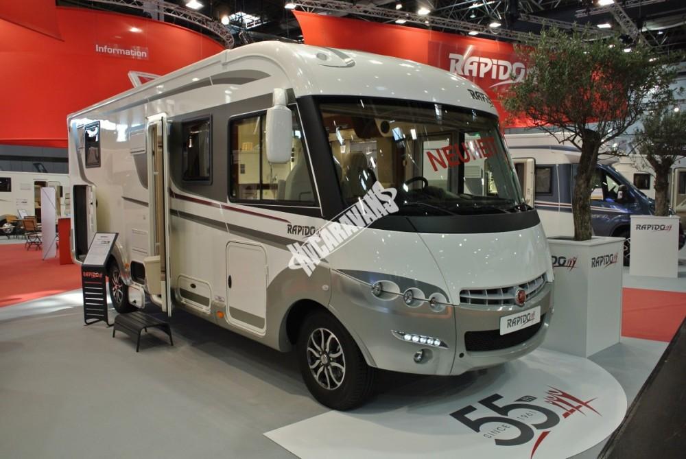 Obytný vůz Rapido 8096 DF limitovaná série 55 model 2017- k odběru 10/2016