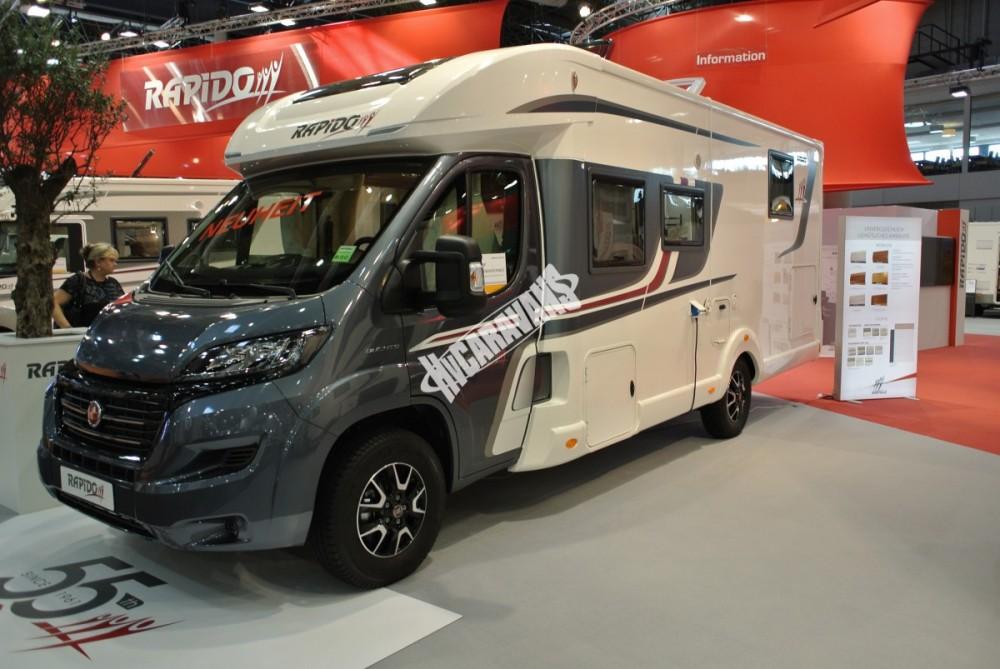 Obytný vůz Rapido 696 FF limitovaná serie 55 model 2017 k odběru 1/2017