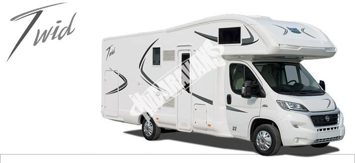 Karavan Twid 73G s alkovnou model 2017 č.1