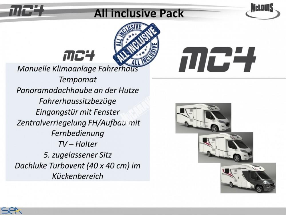 Polointegrované obytné auto MC4 73G model 2018 DIAMONT SILVER  Prodáno č.15