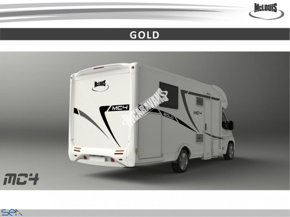 Polointegrovaný obytný vůz MC4 74G MODEL 2017 GOLD č.2
