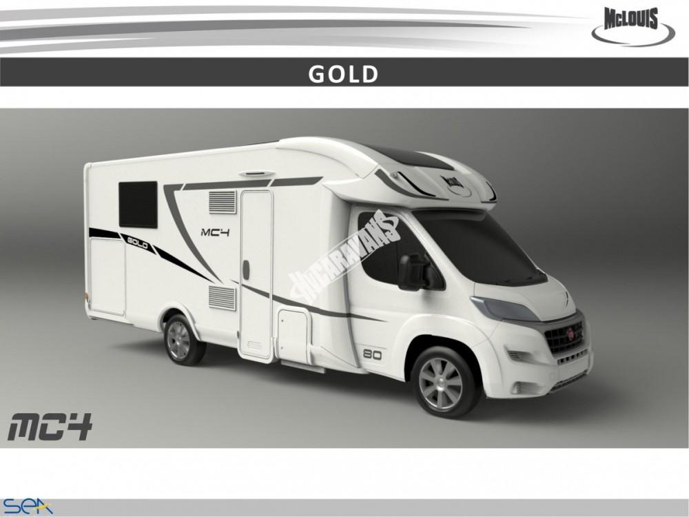 Polointegrovaný obytný vůz MC4 80 model 2018 GOLD