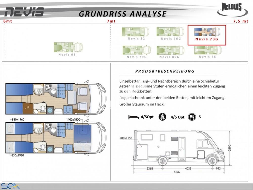 Celointegrovaný obytný vůz NEVIS 73G model 2018  DIAMOND STYLE skladem č.19