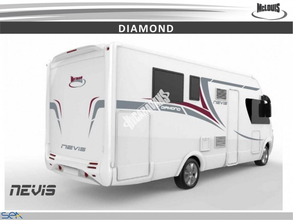 Celointegrovaný obytný vůz NEVIS 73G model 2018  DIAMOND STYLE skladem č.14