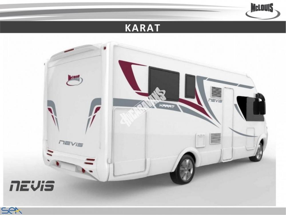 Celointegrovaný obytný vůz NEVIS 73G model 2018 DIAMONT č.12